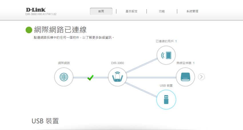 D-Link 友訊 DIR-3060 旗艦款 AC3000 Wi-Fi Mesh 無線路由器畫面 (ifans 林小旭) (10).png
