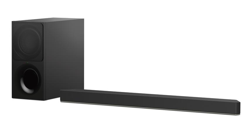 圖6) HT-X9000F獨立重低音揚聲器強化低頻營造更深沉的震撼感,同時也採用垂直環繞引擎技術,可重現「垂直」方向的音場。.png