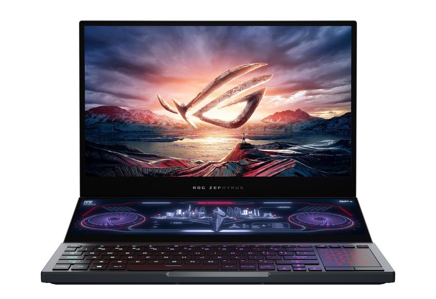 ROG Zephyrus Duo 15為ROG玩家共和國首款採用雙螢幕設計的電競筆電,其創新的雙螢幕設計將徹底翻轉玩家體驗遊戲的全新方式。.png
