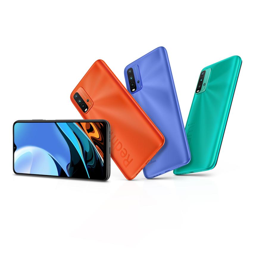 Redmi 9T(4GB+64GB)提供碳纖灰、暮光藍、日出橙和海洋綠四種顏色,售價為新台幣$4,699元;Redmi 9T(6GB+128GB)提供暮光藍、日出橙和海洋綠三種顏色,售價為新台幣$5,499元,將於二月中旬於各大通路陸續開賣。.png