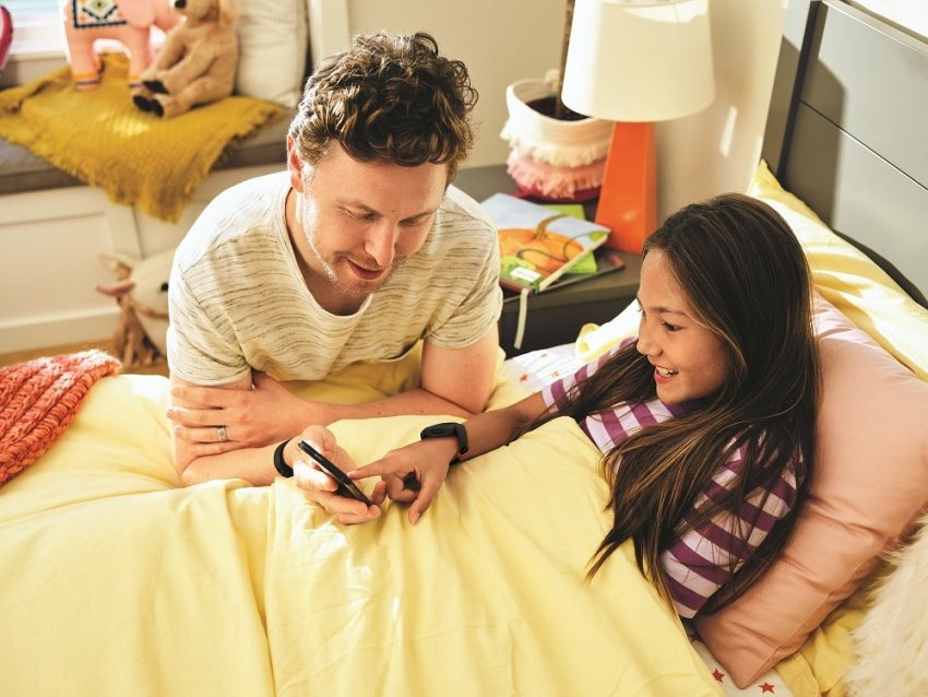圖五:Ace 3 提供睡眠追蹤、就寢時間提醒及靜音鬧鐘等功能,協助親子制訂出一致的睡眠時間,讓兒童有充分時間休息,補充次日所需活力.jpeg