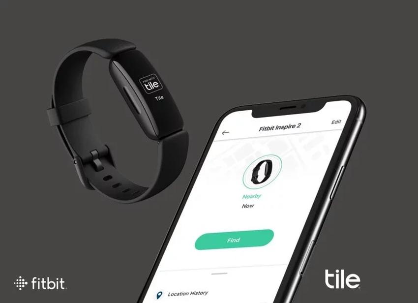圖二:Fitbit Inspire 2 可利用 Tile 應用程式定位,迅速解決遺失裝置的困擾。即使 Inspire 2 不在藍牙訊號範圍內,可利用 Tile 程式查看裝置最後出現的位置,或利用 Tile 的全球網路予以定位.png