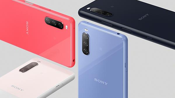 圖說、Xperia 10 III共有水漾藍,水漾粉,水漾黑,水漾白等四款配色,預計將於2021年初夏於台灣市場推出.png