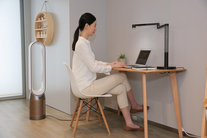 【圖2-1】Dyson Purifier Cool二合一空氣清淨機TP09安靜程度提高20%,在家工作也能享受寧靜舒適的居家環境.png