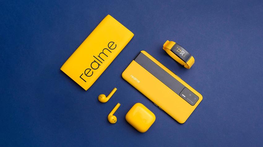 realme大膽將品牌黃色運用於產品中,推出多款受用戶喜愛的科技產品。.png