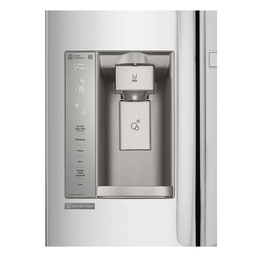 4 - LG InstaView 敲敲看門中門冰箱搭載便利冰飲霸,自動製冰、製水,全天候供應不打烊。.png