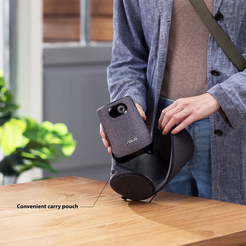華碩「ASUS ZenBeam Latte L1」攜帶式投影機在台上市