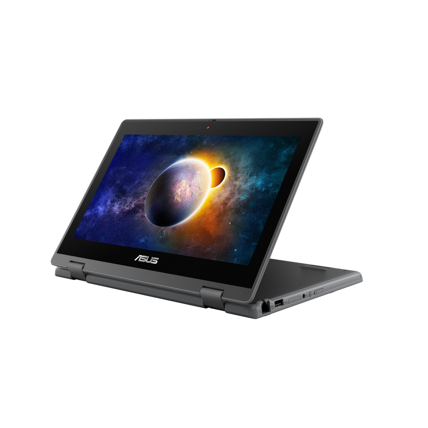 ASUS BR1100擁有360度翻轉觸控螢幕、完整連接埠及內建SSD,可選購Stylus觸控筆,完勝各種學習情境。.png