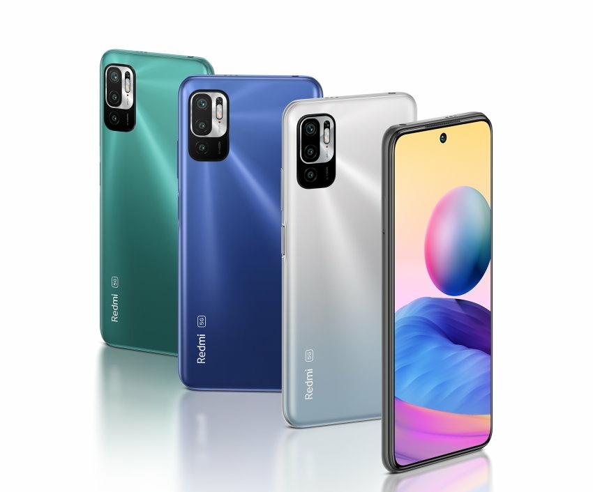 5G市場行情破壞王「Redmi Note 10 5G」於7月1日起,於中華電信、遠傳電信、台灣之星、亞太電信全面開賣,搭配5G門號,月付$799元起,Redmi Note 10 5G直接0元起帶回家.jpg