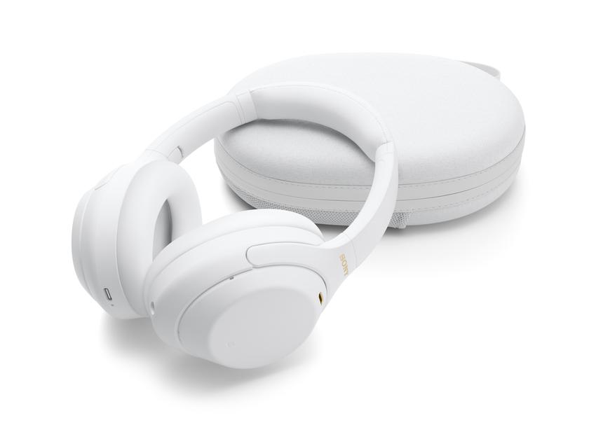 圖 1) Sony WH-1000XM4 無線主動式降噪耳機推出全新限量靜謐白版.png