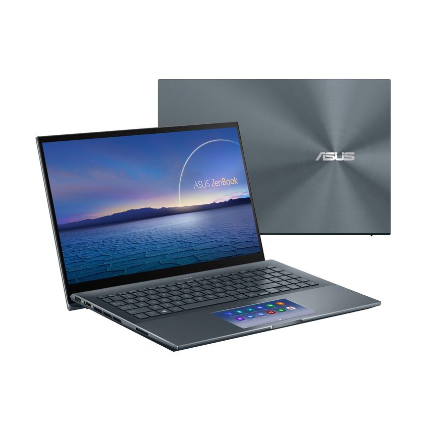 ASUS ZenBook Pro 15 OLED選用15.6吋極窄邊框4K UHD OLED螢幕,高畫質細膩逼真、色彩呈現栩栩如生,高達88%螢幕佔比帶來沉浸式觀看體驗。.png