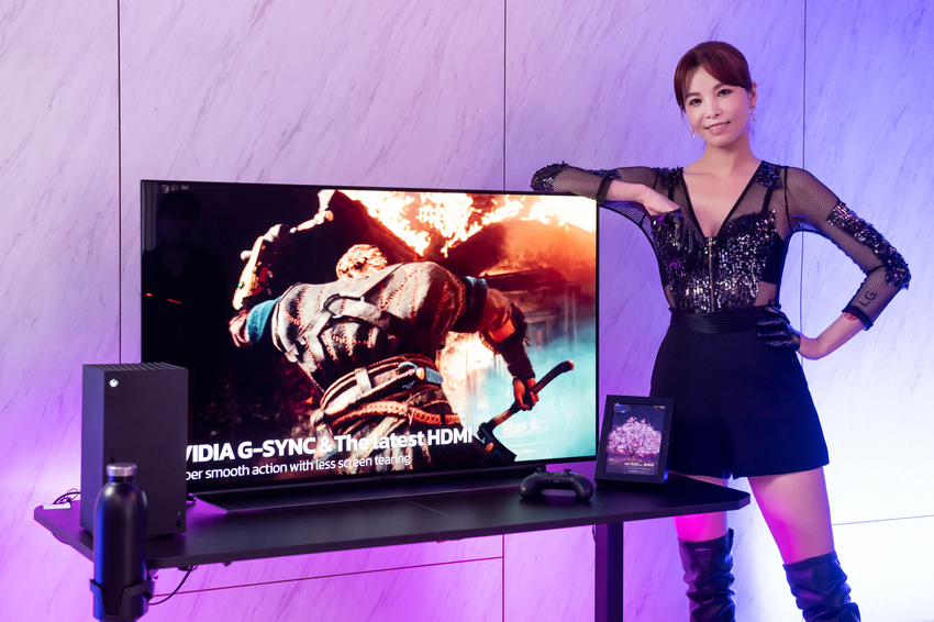 C1 系列搭載HGiG 模式, 強化沉浸式 HDR 遊戲體驗,更搭配 4 個高頻寬 HDMI 2.1,提供快速的動態轉換和最高 4K 120fps 的完美遊戲體驗,享受一級玩家的暢快娛樂享受。.png