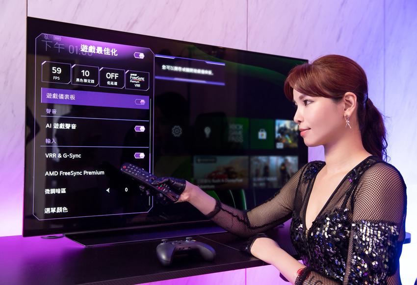 C1 系列獲 NVIDIA G-SYNC和AMD FreeSync 功能雙認證的電視,內建遊戲最佳化功能,任何類型的遊戲,皆能自動調整畫面,細膩展現每一個人物、場景細節,達到最佳的影像效果。.png