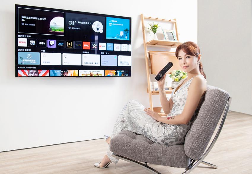 全系列採用全新 webOS 6.0 智慧娛樂平台,擁有 Miracast overlay功能,支援手機鏡射,內建 Apple TV、Netflix、Youtube 影音串流,盡享影音娛樂、運動賽事。.png