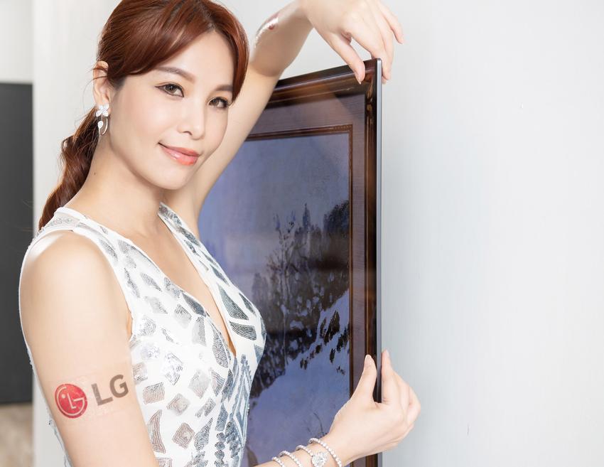 LG OLED evo 創視際 G1 全新零間隙畫廊系列,纖薄外型、極窄邊框,如同藝術品懸掛於牆面,演繹時尚居家美學。.png