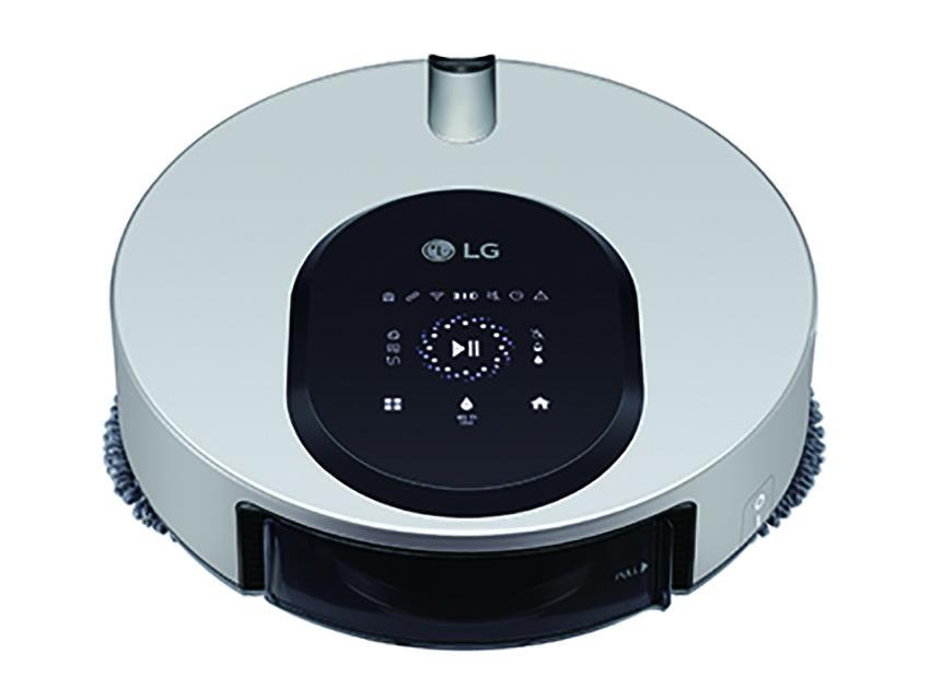 03 - LG CordZero ThinQ M9銳眼雙旋拖地機器人同時搭載雙重偵測感應器,包含景象感測器與距離感測器,能精準辨識室內空間,規劃出理想的行進路線與目標清潔區域。.png