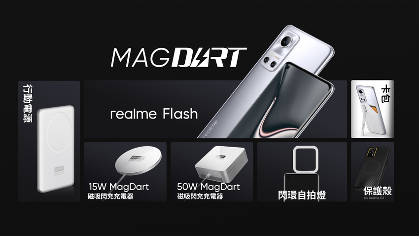realme磁吸技術發表會,亮相7款MagDart產品。.png