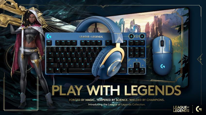 圖說01: Logitech G 史上最強遊戲IP聯名,《英雄聯盟》PRO系列珍藏版聯名商品,將於11月4日於Logitech G官方網站與蝦皮官方旗艦館限量開賣.png