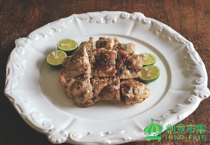 香草烤豬肉