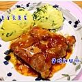 雞腿排+皇宮菜蒸蛋 (2).JPG