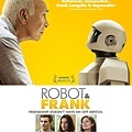 《機器人與法蘭克》國際版海報