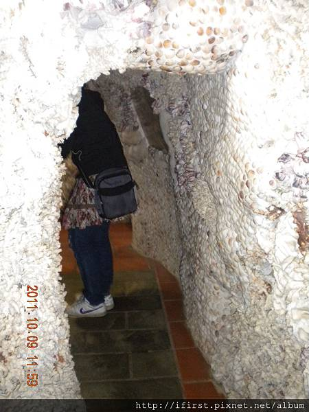 2011十月三芝貝殼廟