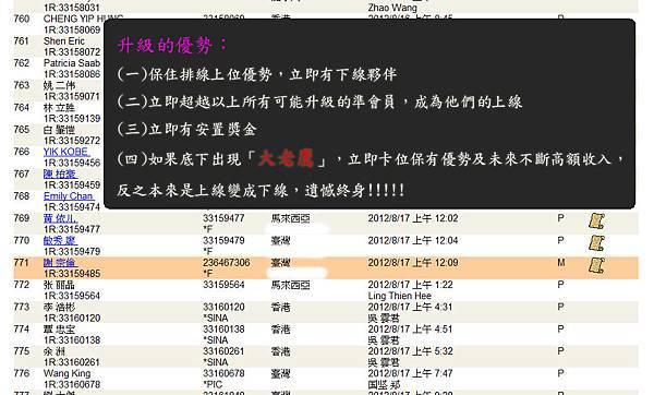 2012-08-23 恭喜 謝宗倫 看懂商機加入VEMMA的大家庭