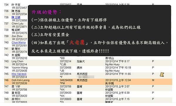 2013-01-22 恭喜 Goh Kim Leong 看懂商機加入VEMMA的大家庭