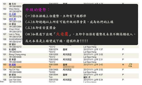 2013-01-30 恭喜 薛 清貴 看懂商機加入VEMMA的大家庭