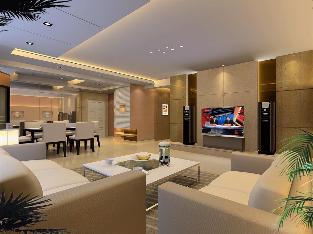 豪華 寬敞客廳