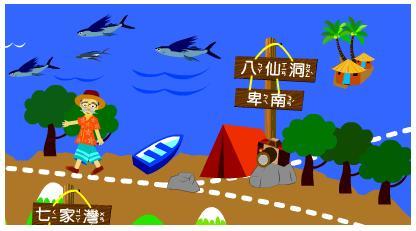 考古大菩薩遊台灣-八仙洞