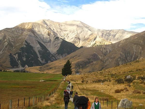 Arthur's Pass-很有群山環抱的Fu