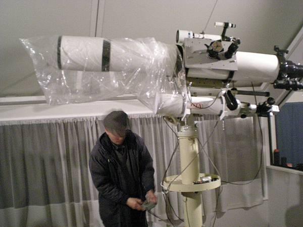 真的天文望遠鏡喔