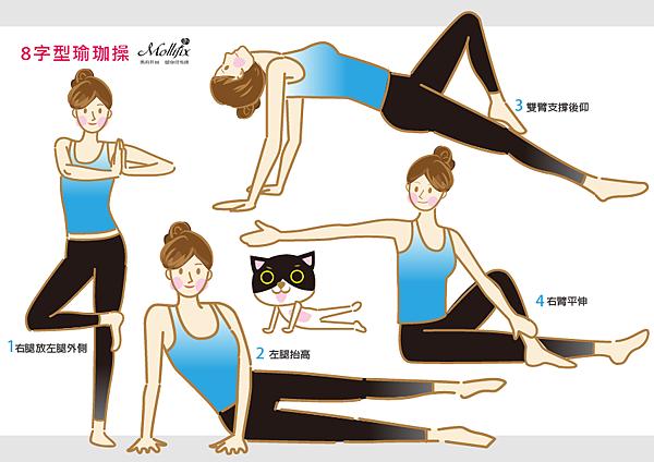 8字形瑜珈操