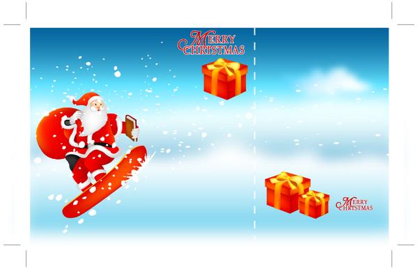 聖誕老公公抽獎卷-空白.jpg
