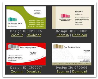 【名片樣板】─ 免費名片設計與模板