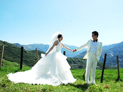 結合民宿、攝影的婚紗旅遊,成為台灣一種新的旅遊模式。(圖/本網資料照片)