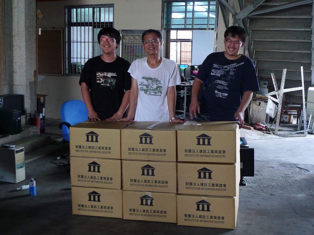 20131013菁寮出貨給高雄那瑪夏民生國小6組二手電腦