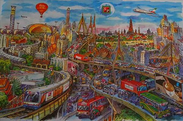 曼谷一覽圖