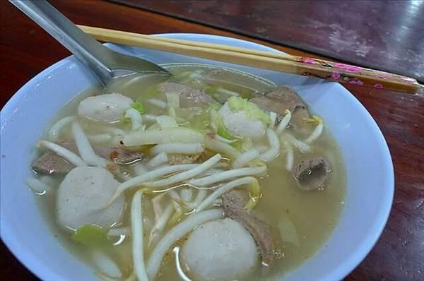 我愛吃的泰式湯麵