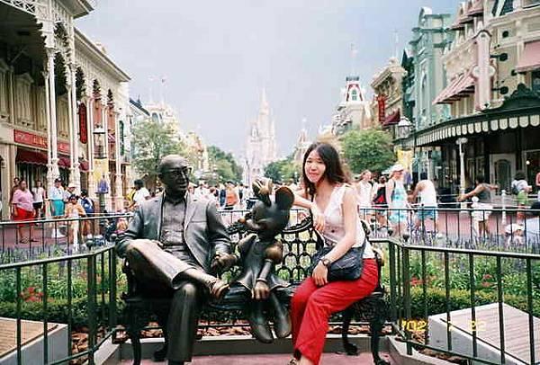 和迪士尼對話