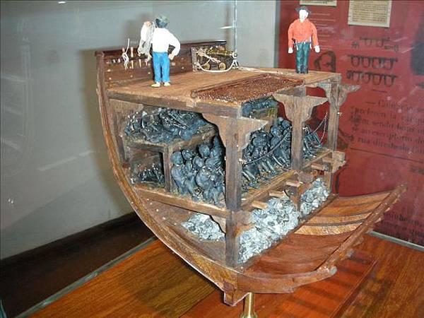 黑奴運輸船的實體