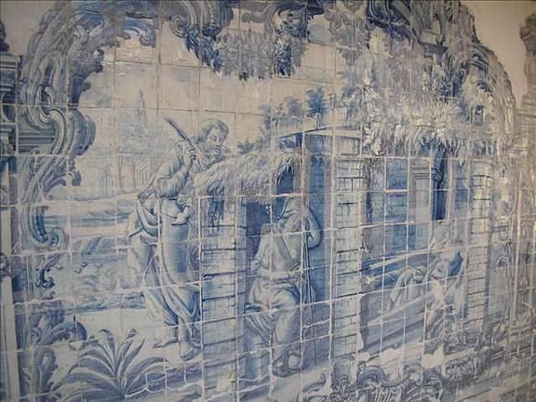 黃金教堂的磁磚壁畫