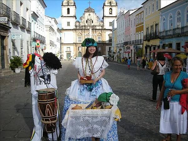 我來當一下Bahia傳統女性吧