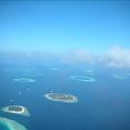 灑落在印度洋上