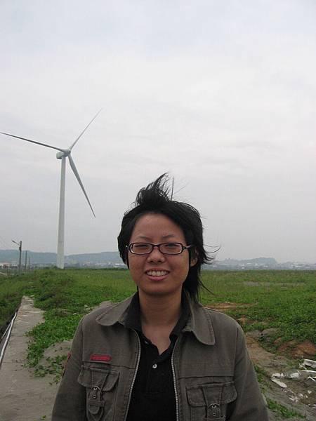 阿乃與大風車