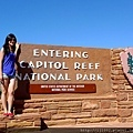 The third - Capitol Reef NP