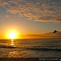 sunset @ la jolla beach