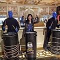 blue man show!!