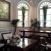 藍象餐廳二樓,類似等候室的小房間